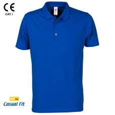 TRICOU POLO ALBASTRU ELECTRIC